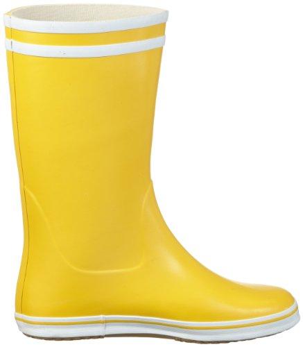 Aigle Malouine, Stivali Donna Giallo (Gelb (jaune/blanc))