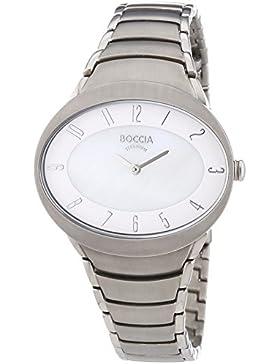 Boccia Damen-Armbanduhr Analog Quarz Titan 3165-10