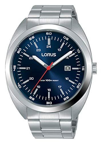 9fd73d84d185 Lorus Reloj Analógico para Hombre de Cuarzo con Correa en Acero Inoxidable  RH951KX9