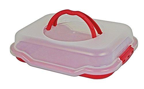 Gies Haushaltsware, Plastik, rot, 38.5 x 29 x 9.5 cm