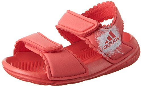adidas Unisex-Kinder AltaSwim Sport Sandalen, Pink (Rosbas/Ftwbla 000), 34 EU