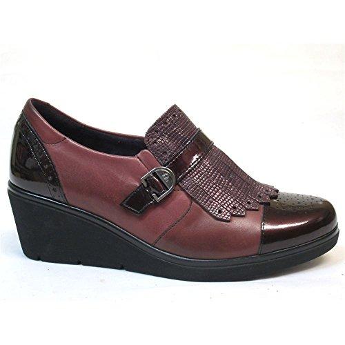 Zapato de plataforma para mujer fabricado en piel Pitillos