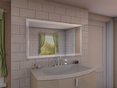 Wandspiegel Bad – Grosser Badspiegel mit Beleuchtung - 2