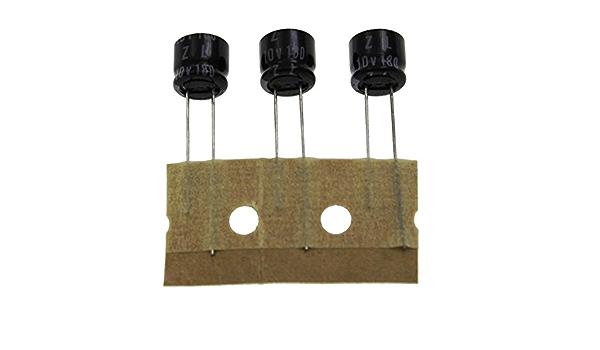50x Elko Kondensator Radial 180µf 10v 105 C 10zl180mtz 180uf Beleuchtung