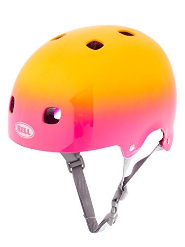 Bell Kinder Fahrradhelm Segment JR Pink/Yellow Comet, 48-53 cm