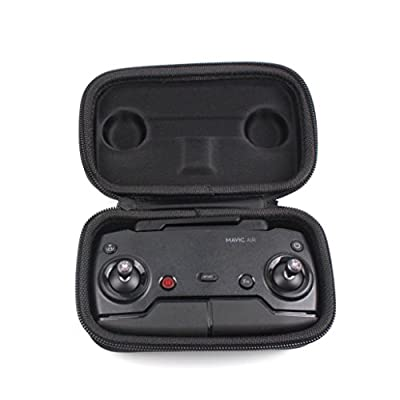 Y56 For DJI Mavic AIR Drone Remote Controller Hard Strorage Portable Carrying Travel Case Bag Box - Black from 5656YAO
