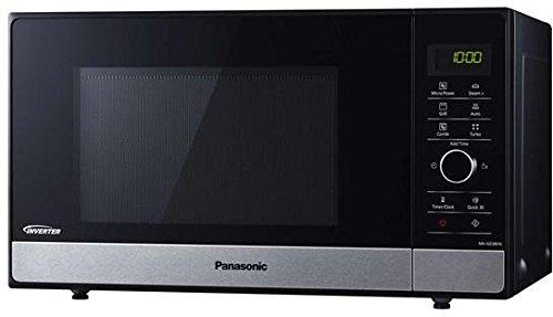 Horno a microondas Panasonic nn-gd38hssug–23l 1000W Negro, Acero