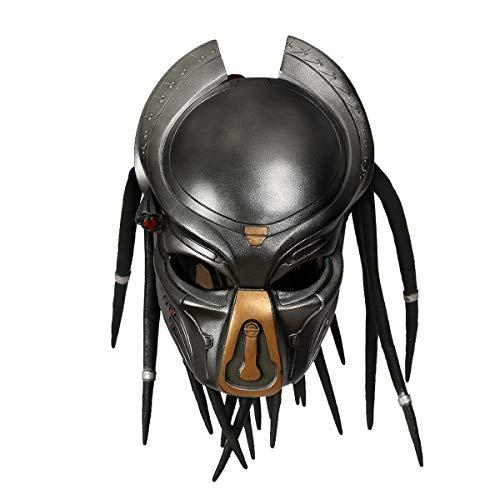 Xcoser Halloween Predator Maske Film Cosplay Kostüm Harz Voller Helm Jungle Hunter Kleidung Replik für Erwachsene Herren 2018