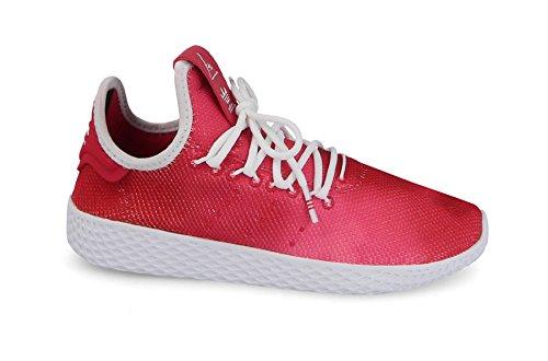 Adidas Pharrell Williams Tennis HU Sneaker Kinder (T-5.5, Escarlata)