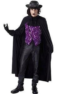 César - Disfraz de Drácula para hombre, talla L (M366741)