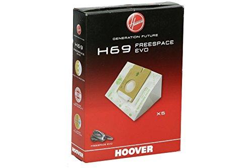 Hoover H69 Bolsa Pure Hepa, 2.3 litros, Papel