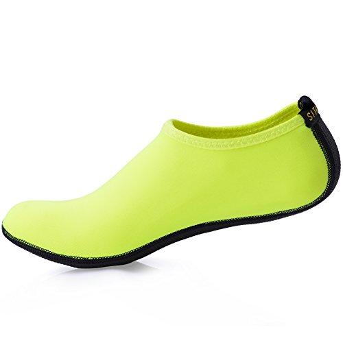 Sitaile Chaussures De Plage Aqua Beach Sports Chaussures De Sport De L'eau Pour Les Hommes De Sport Vert Des Hommes