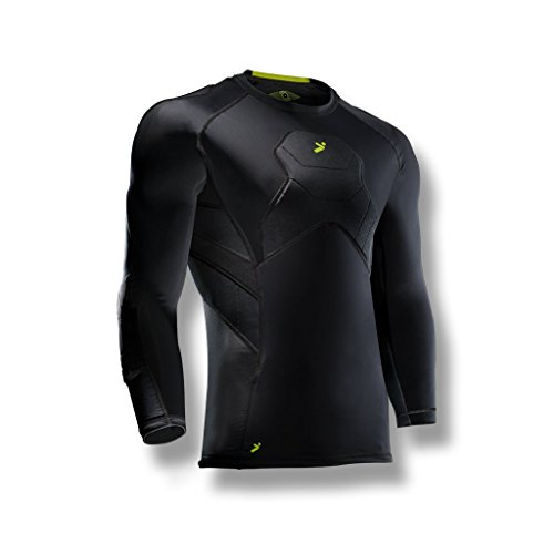 Storelli Youth Body Shield Goalkeeper 3 4 Youth Shirt  Black  Medium