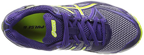Asics Gel Pulse 6 - Chaussures course à pied Femme Violet (DEEP PURPLE/LIME/PURPLE 3605)