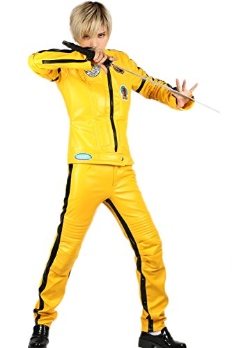 Cosplay Kostüm Damen Overall Jumpsuit PU Outfits Bodysuit -