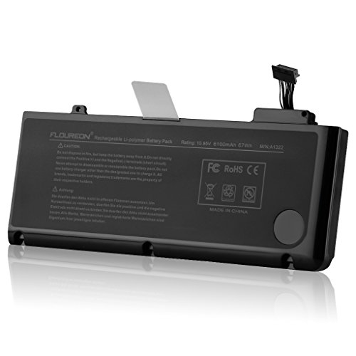 FLOUREON Rempalcement Batterie pour Apple A1322 MacBook Pro 13