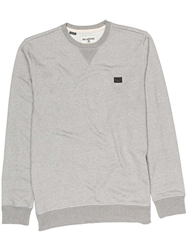 Billabong Herren All Day Crew Jumper Grey Heather