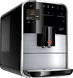 Melitta Caffeo Barista T F731-101, Kaffeevollautomat mit intenseAroma Funktion, One Touch Funktion, Silber