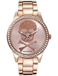 Reloj Mark Maddox Mujer MM0016-20 Pink Gold Calavera