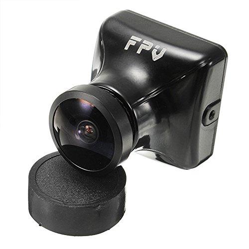 HankerMall FPV Kamera JJA-960H 1080 P HD Cam 2.1mm Objektiv 135 Grad mit OSD Interne Einstellbare NTSC / PAL für Multicopter Quadcopter (Schwarz) 1080-hd-kamera