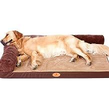 ZSY pet Cama para Perros Grandes Cuna de colchón Suave Colchón de Gato Medio Cómoda Lavable
