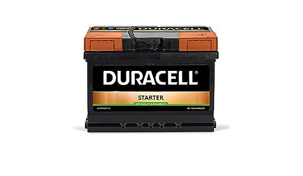 DS60 Duracell Advanced Batterie De Voiture 12V 60Ah (075