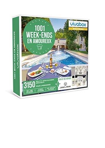 Vivabox - Coffret cadeau couple - 1001 WEEK-ENDS EN AMOUREUX - 3150 séjours + 1 kit...