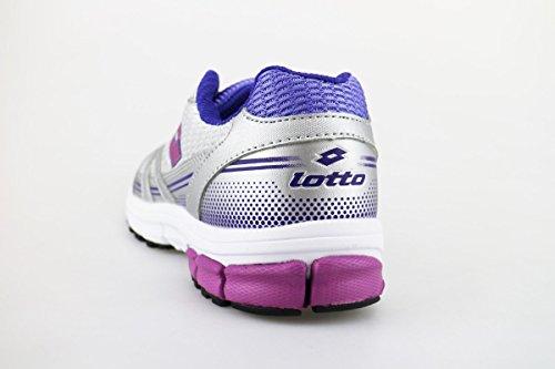 LOTTO sneakers donna tessuto pelle Grigio/Viola