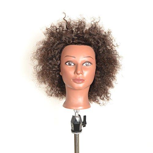 kosmetologie-ethnische-menschliches-haar-manikin-afro
