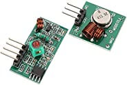 Arduino 433Mhz RF Wireless Transmitter and Receiver Module