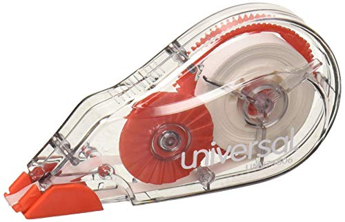 Correction Tape with Two-Way Dispenser, Non-Refillable, 1/5