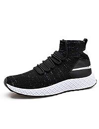 Amazon.it  scarpe nere uomo - 42   Scarpe sportive   Scarpe da uomo ... c99281aaf382a