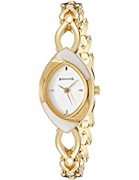 Sonata Analog Silver Dial Women's Watch -NK8069YM01