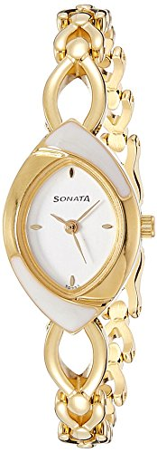 Sonata Analog Silver Dial Women's Watch -NK8069YM01