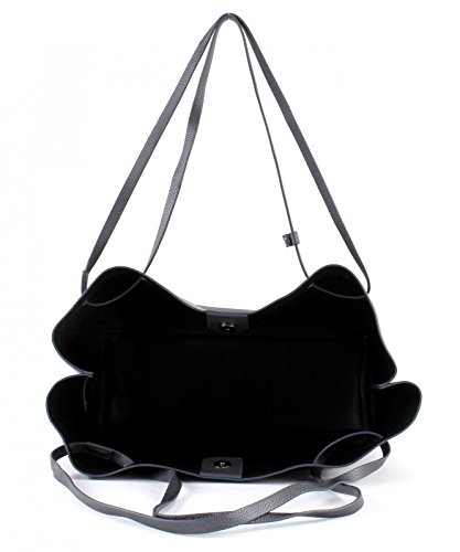 Esprit Nuria Shopper Tasche 36 cm Grau