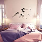 Mitlfuny Karnevalsparty Fancy Festival Dekoration,DIY Cartoon Haus Abnehmbare Wandtattoo Familie Home Aufkleber Wand Kunst Wohnkultur