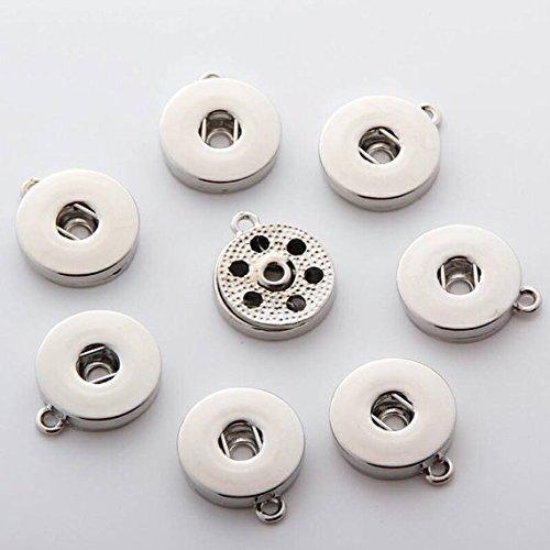 Simple Ever 18 da appendere bottoni di Noosa Chunk per bottoni intercambiabili per collane anelli ciondoli & braccialetti confezione da 5.