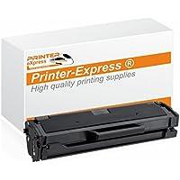 Printer-Express XXL Toner ersetzt Samsung MLT-D111S, D111S, 111S, MLTD111S (50% mehr Inhalt!) für Samsung Xpress M2020, M2020W, M2022, M2022W, M2070 Drucker schwarz - Neuster Chip!