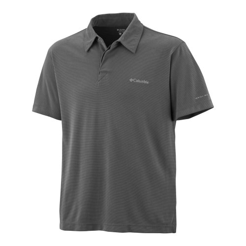 Columbia Herren Poloshirt Sun Ridge Grau - Metal