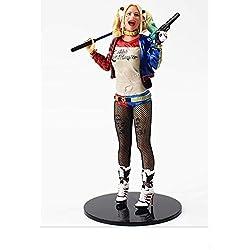 MCS Rongzou Figura Harley Quinn pelicula de Marvel ESCUADRON Suicida tamaño 18 cm Escala 1/6 Coleccionable Juguete PVC Suicide Squad Coleccion