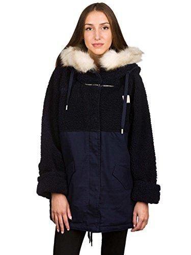 Adidas-Wool Parka, Donna, Wool, Leggenda inchiostro, 40