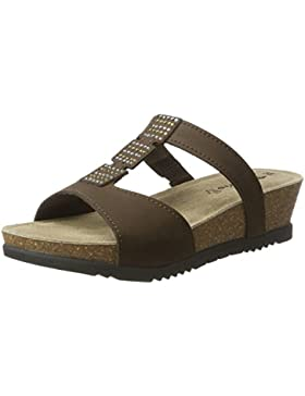 Tamaris Damen 27214 Offene Sandalen mit Keilabsatz