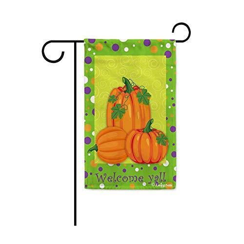 rbst Herbst Kürbis Deko Garten Flagge für Außen Mini Garden flag-12.5x18 inch 31 ()