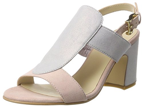 TAPODTS Gracia 2.2, Sandales  Bout ouvert femme Mehrfarbig (Rose/lila)