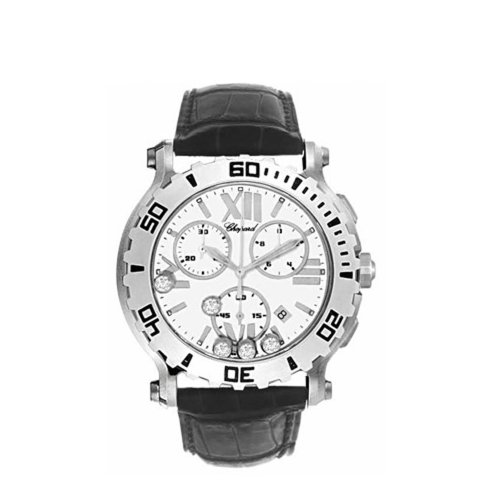 Chopard Women's 28/8499-3001 Happy Sport Round Chronograph Watch