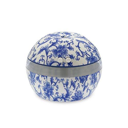 SGSD Humidificador De Aromaterapia Mini Humidificador Máquina De Aromaterapia De Porcelana Azul Y Blanca...