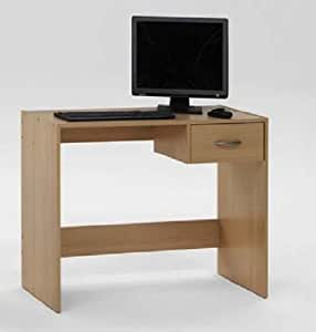 PAUL Beech Finish Office Desk / Study Table with Drawer by DMF
