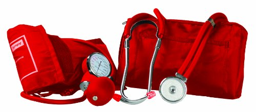 Primacare Medical DS-9181-R - Tensiómetro de brazo manual, color rojo