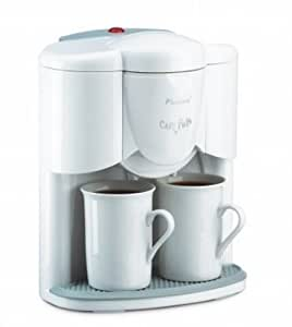 Bestron Dcj609A Café Twin Cafetière 2 Tasses Inclus