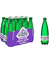 Highland Spring Sparkling Spring Water, 12 x 500ml